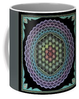 Coffee Mug featuring the painting Creating My Heaven On Earth by Keiko Katsuta