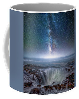 Coffee Mug featuring the photograph Creation by Darren White