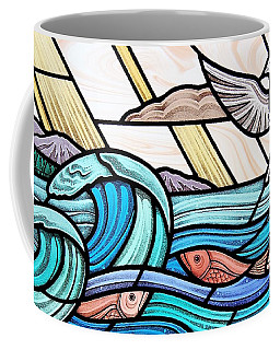 Creation Of The Sea And Sky Coffee Mug