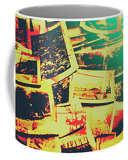 Creative Retro Film Photography Background Coffee Mug