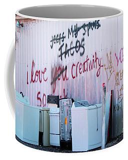 Coffee Mug featuring the photograph Creatively Yours by Joe Jake Pratt