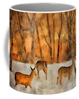 Creatures Of A Winter Sunset Coffee Mug