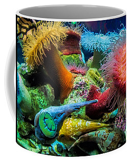 Creatures Of The Aquarium Coffee Mug by Lynn Bolt
