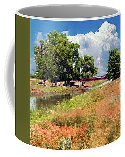 Creek In Brush Colorado Coffee Mug