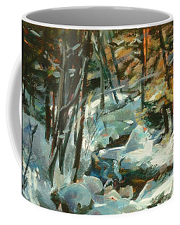 Creek In The Cold Coffee Mug