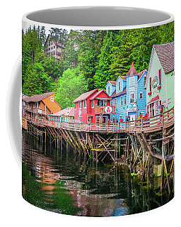 Creek Street Ketchikan Alaska Coffee Mug