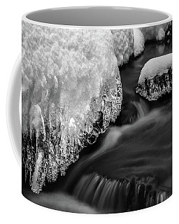 Creek Under The Ice Coffee Mug