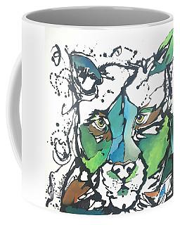 Coffee Mug featuring the painting Creep by Nicole Gaitan