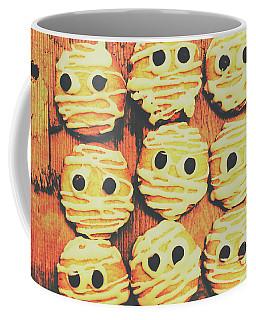 Creepy And Kooky Mummified Cookies  Coffee Mug