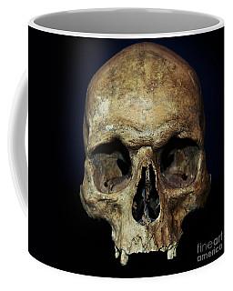 Creepy Skull Coffee Mug