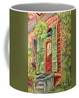 Creole Painted Lady In The Marigny Coffee Mug