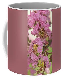 Crepe Myrtle And Bee Coffee Mug