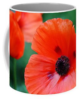 Crepe Paper Petals Coffee Mug