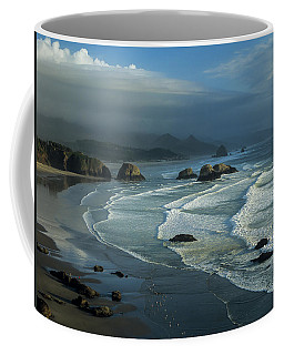 Crescent Beach And Surf Coffee Mug