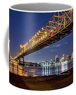 Crescent City Bridge, New Orleans Coffee Mug