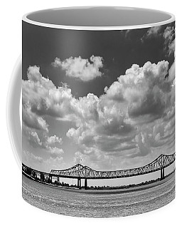 Crescent City Connection In Black And White Coffee Mug