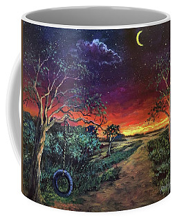 Crescent Moon Memories Coffee Mug