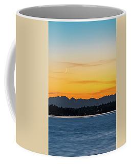 Crescent Moon Sunset Coffee Mug