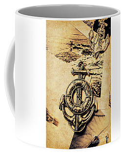 Crest Of Oceanic Adventure Coffee Mug