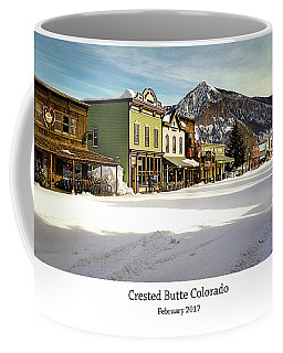 Crested Butte Coffee Mug