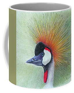 Crested Crane Coffee Mug by Phyllis Howard