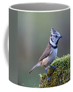 Crested Tit Coffee Mug