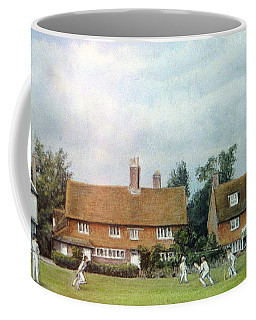 Cricket On The Green Coffee Mug by Rosemary Colyer