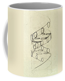Cricks Original Dna Sketch Coffee Mug