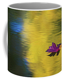 Coffee Mug featuring the photograph Crimson And Gold by Steve Stuller