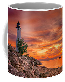 Crimson Crisp Point Coffee Mug