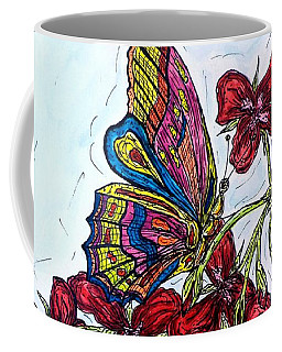 Crimson Fancy Coffee Mug