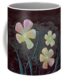 Crimson Flower Coffee Mug
