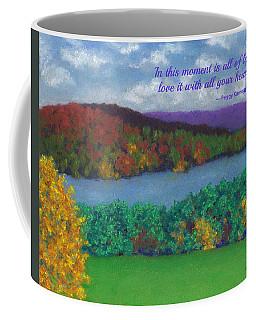 Crisp Kripalu Morning - With Quote Coffee Mug