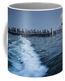 Crisp Point Lighthouse On Lake Superior Coffee Mug