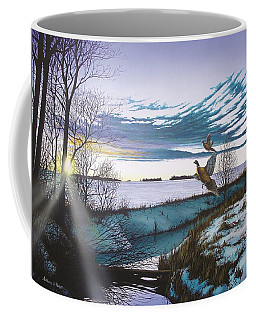 Crisp Winter Light Coffee Mug