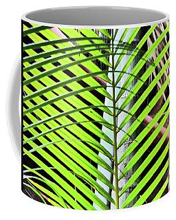 Crisscrossing Palms Coffee Mug