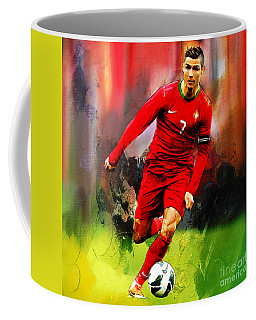 Cristiano Ronaldo 08a Coffee Mug