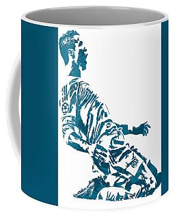 Cristiano Ronaldo Real Madrid Pixel Art 2 Coffee Mug