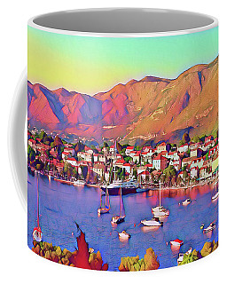 Croatia Coastal Living Coffee Mug