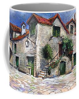 Croatia Dalmacia Square Coffee Mug