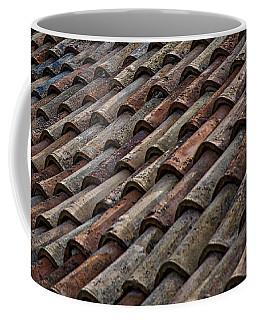 Croatian Roof Tiles Coffee Mug