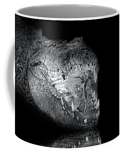 Coffee Mug featuring the photograph Croc by Mark Andrew Thomas