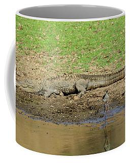 Crocodile Coffee Mug by Manjot Singh Sachdeva