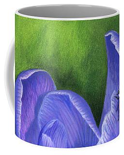 Crocus And Ladybug Detail Coffee Mug