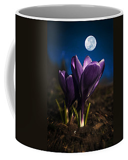 Crocus Moon Coffee Mug