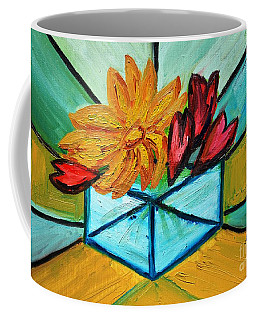 Cubes Coffee Mug by Ramona Matei