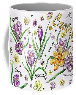 Crocuses Coffee Mug