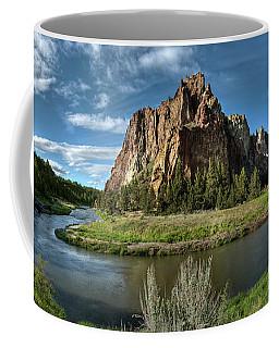 Crooked River And Smith Rock Coffee Mug