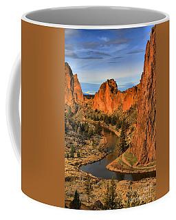 Crooked Riverbend Portrait Coffee Mug