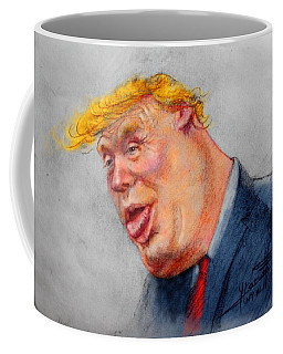 Crooked Trump Coffee Mug